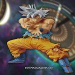 Banpresto The Super Warriors Special Son Goku Migatte No Gokui Ultra Instinct Figure