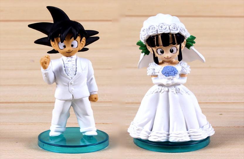 figura goku para boda