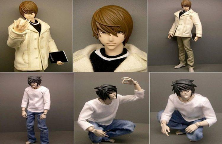 figuras anime para pintar