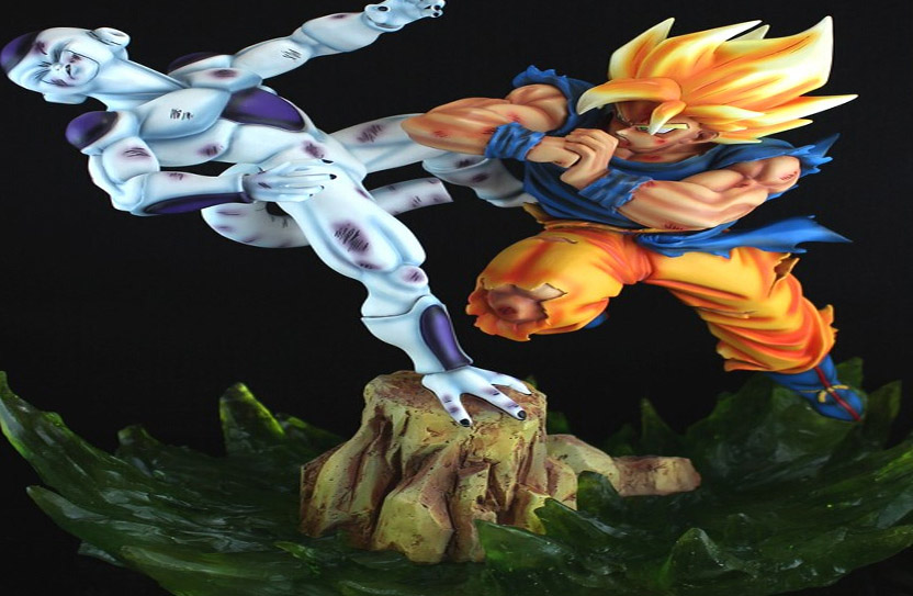 figuras resina dragon ball