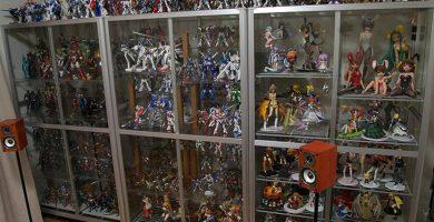limpiar figuras de coleccion