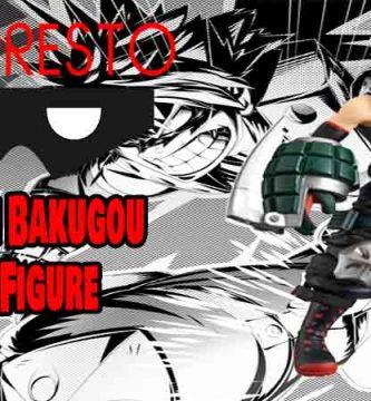 figura bakugou Banpresto dxf