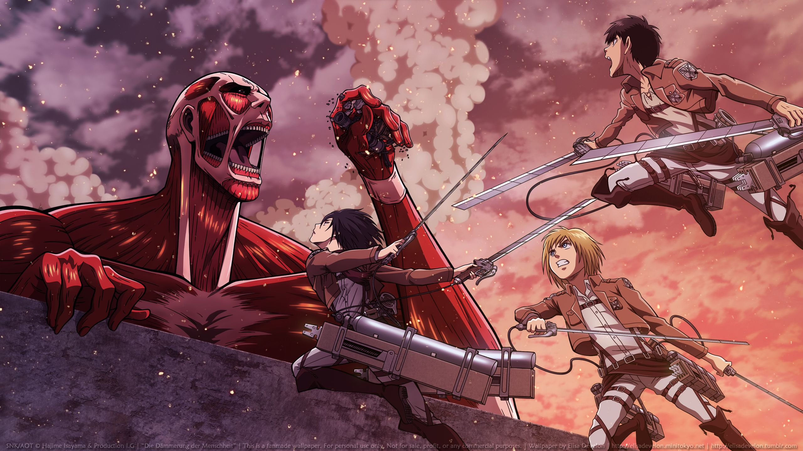 figuras attack on titan
