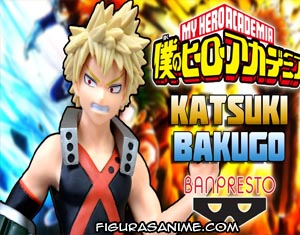 la mejor figura bakugou my hero academia