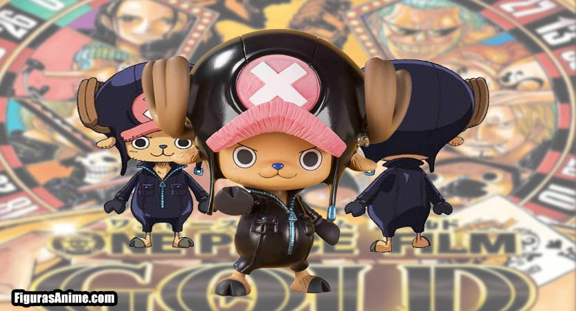 figura chopper One Piece film gold