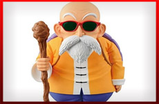 figuras Maestro Roshi dragon ball