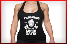 camisetas dragon ball gym mujer