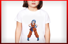 camisetas dragon ball niña
