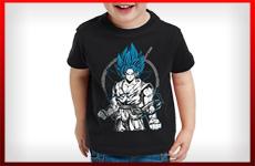 camisetas dragon ball niño