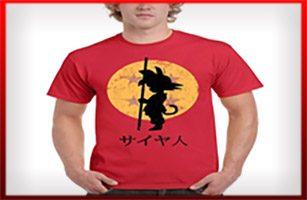 camisetas dragon ball son goku