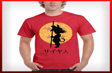 camisetas goku dragon ball