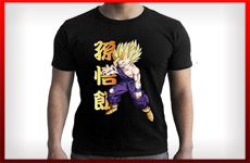 camisetas son gohan dragon ball