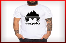 camisetas vegeta dragon ball