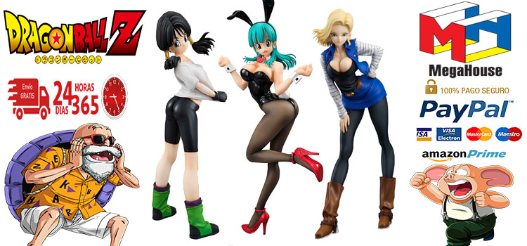 figuras Dragon Ball Gals baratas