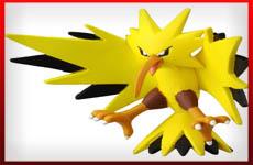 figuras Zapdos pokemon