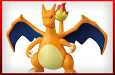 figuras charizard pokemon