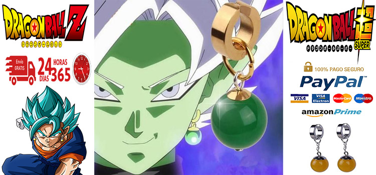 pendientes potara dragon ball baratos
