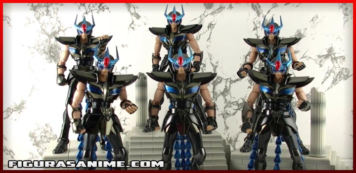 saint seiya myth cloth black saints