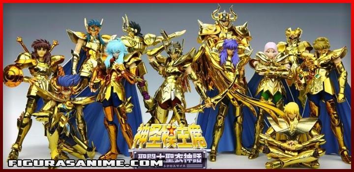 saint seiya myth cloth caballeros de oro